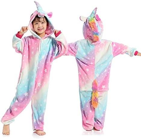 Pijama Unicornio Niños Kigurumi Onesie Unicornio Pijamas for niños ...