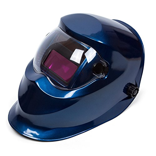 Welding Helmet Mask (Blue) - 4