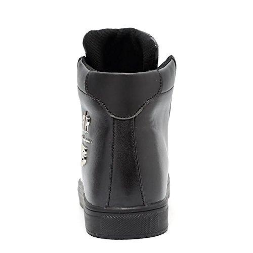 Splice Nero Vamp Sneaker per Vamp Uomo da Dimensione Flat Moda 43 EU Scarpe Lace Heel Tempo Splice Libero up Color Il TzzqwBIC