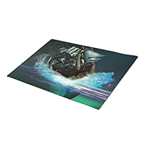 Bestgoon Unique Doormats Leviathan Entry Mats Squid Double Door Mat Myth