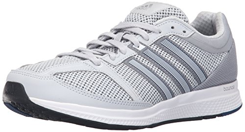 adidas Performance Mens Mana RC Bounce M Running Shoe Clear Grey/White/Tech Grey Fabric