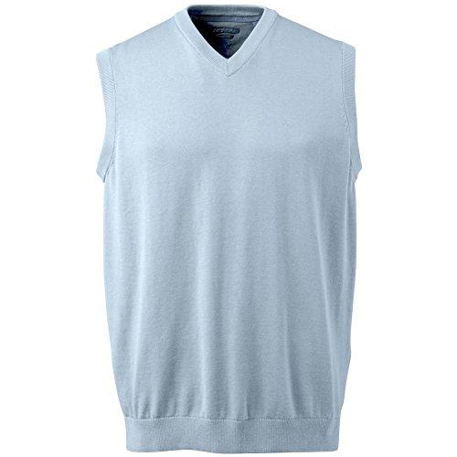 Ashworth Men's Solid Pima Sweater Vest (2XL, - Pullover Lightweight Ashworth