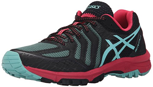 Asics Women's Gel-Fuji Attack 5 Running Shoe, Black/Pool ...