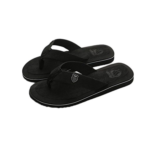 ad0127793 YJYdada Men s Summer Flip-flops Slippers Beach Sandals Indoor Outdoor  Casual Shoes (44