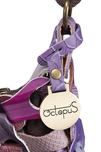 Octopus morado para morado mujer de Denmark al Piel hombro Bolso 7YArzw7