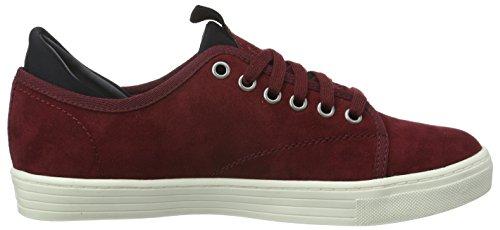 s.Oliver Damen 23606 Sneakers Rot (BORDEAUX 549)