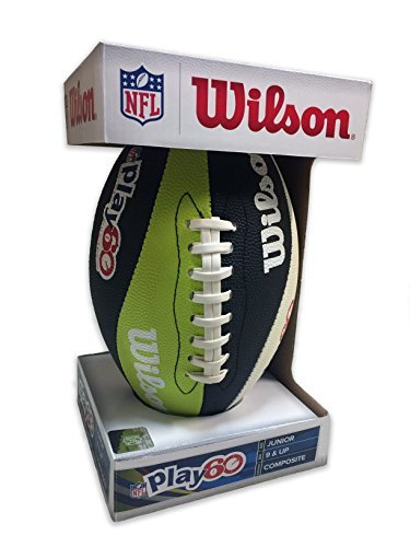 Wilson NFL Play 60 Junior Size Football by Wilson