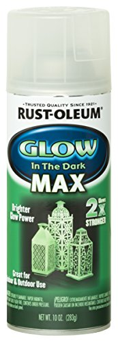 Rust-Oleum 278733 Specialty Spray Paint 10 oz, Glow in The Dark Max -