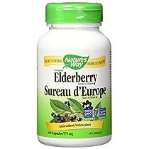 Nature's Way Elderberry Health Supplement, 100 Count
