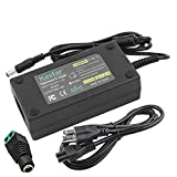 Kastar AC Adapter, Power Supply 12V 6A 72W, Tip