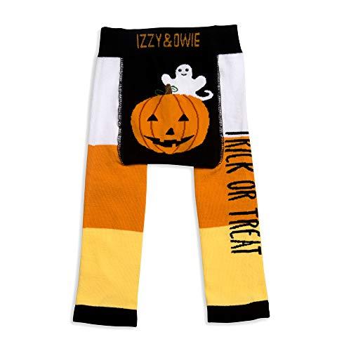 12-24 M Orange Pavilion Gift Company Izzy /& Owie-Trick Or Treat Halloween 12-24 Month Unisex Baby Leggings
