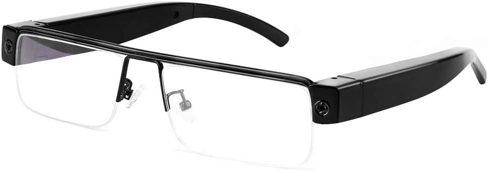 Opinión sobre 16GB 1080P HD espía gafas cámara portátil grabadora de vídeo soporte toma de fotos, grabación de audio