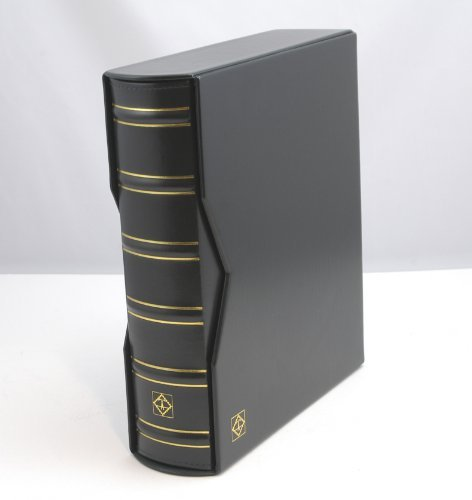 (Lighthouse Vario-G Classic Binder with Slipcase, Black )