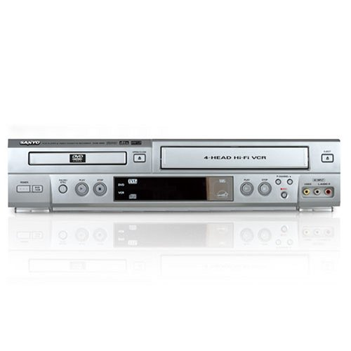 Sanyo DVW6100 TVGuardian DVD player with Built-in 4-HEAD Hi-Fi TV Guardian VCR recorder