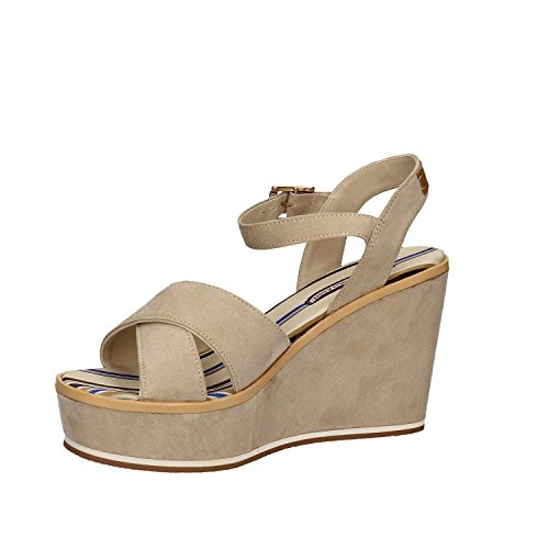 U.s. polo assn. ESTY4034S7/H1 Wedge sandals Women Beige 37 K2QIhqf