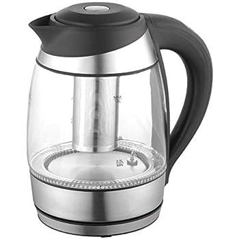 Amazon Com Vivreal 1 01 Electric Glass 1 8l Silver