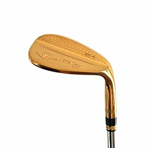 Pro Wedge Forged - Japan Wazaki 14K Gold M PRO Forged Soft Iron USGA R A Rules of Golf Club Wedge (60 Degree loft)