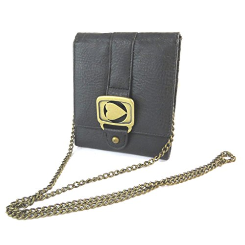 Portefeuille noir morgan New Chain Game Bag.