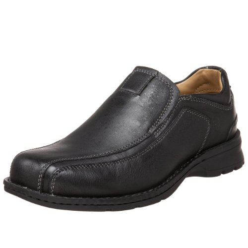 Dockers Men's Agent Slip-On,Black,11.5 M US