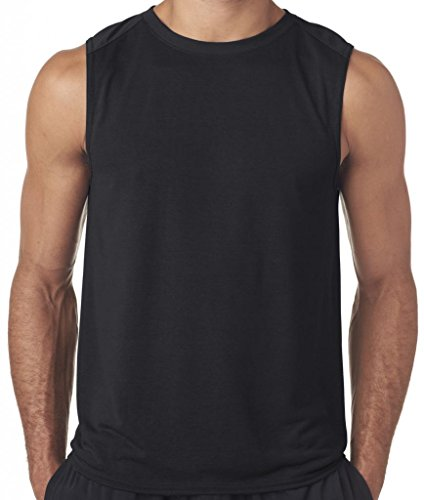 Price comparison product image Mens Sleeveless Muscle Tank Top,  XL Black