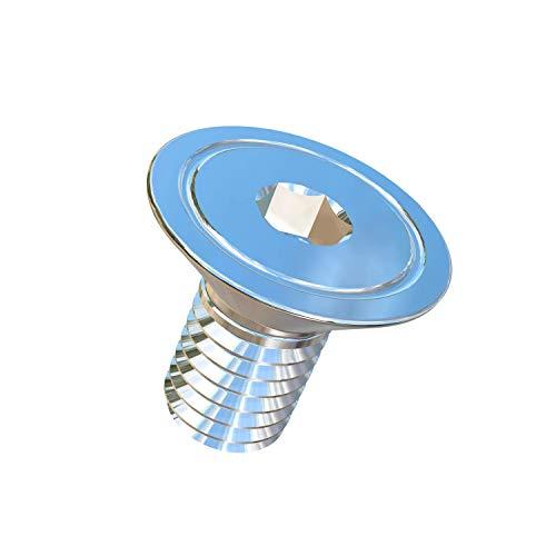 Allied Titanium 0008938, (Pack of 12) M5-0.8 Pitch X 10mm Flat Head Socket Drive Machine Screw, Grade 5 (Ti-6Al-4V)