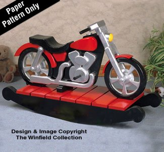Motorcycle Rocker Woodworking Plan