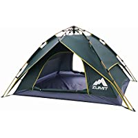 ZUMIT Tent for Camping 4-6 Person Waterproof Dome Shelter...