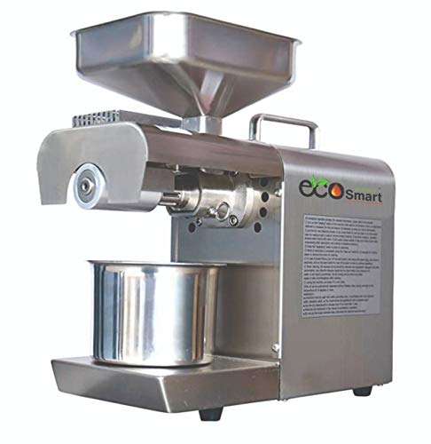EcoSmart 02 600 Watt Organic Home Use Stainless Steel Oil Press Machine Oil press machine Oil Extraction Machine Oil Maker Machine for Healthy & Pure Oil Price & Reviews
