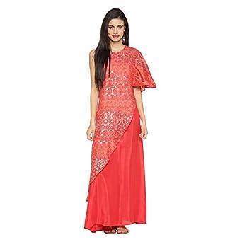 046d9f5e9c1 Akkriti by Pantaloons Women s A-Line Kurta (110031163002 Pink S ...