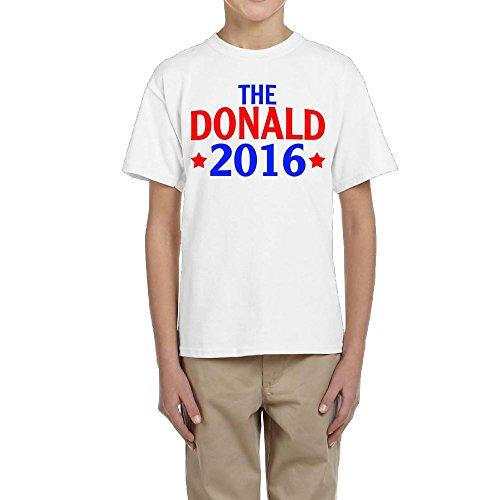 TangChuan Youth Boys Girls The Donald 2016 Funny T-Shirt