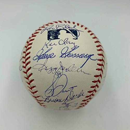 1978 New York Yankees World Series Champs Team Signed MLB Baseball COA #3/22 - JSA Certified - Autographed Baseballs