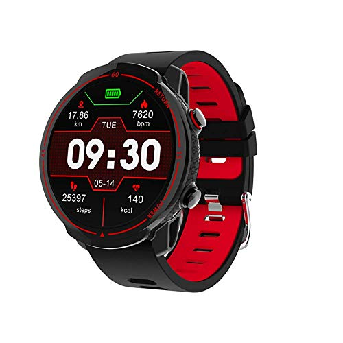Smart Watch,Outdoor Waterproof Round Face Touch Screen Sport Watch With Heart Rate Monitor And Pulse Ox Sensors Gps Pedometer,Fitness Activity Tracker