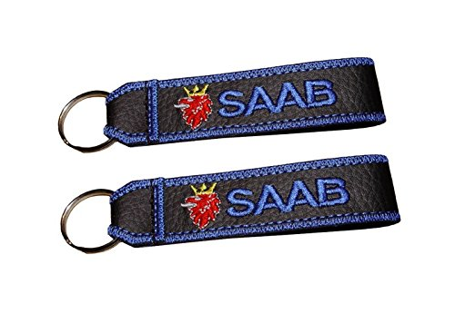 SAAB double sided lanyard keychain (1 pc.) for sale  Delivered anywhere in USA