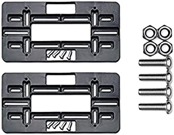 Cruiser Accessories Black Mounting Plate 79150