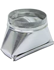 Lambro 123 Aluminum Transition, 3 1/4-Inch x 10-Inch to 7-Inch
