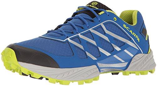 SCARPA Men's Neutron Running Shoe Trail Runner, Turkish Sea, 41.5 EU/8.5 M US