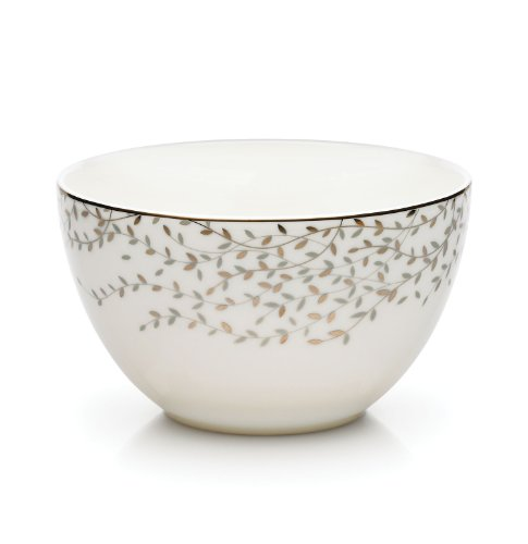 Mikasa Shimmer Vine Open Stock Fruit Bowl