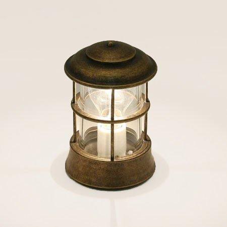 ゴーリキアイランド ガーデンライト【BH1012 AN CL】(真鍮古色仕上 クリアーガラス) B01FH51AS8 25380