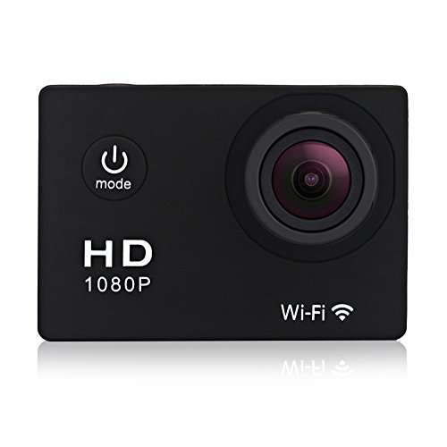 GeekPro® Pro 1 Wifi 12MP Full HD 1080P Sports Camera Waterproof Action DV 170° Wide Helmet Camcorder DVR Sport Camera Action Camera DV Car Dash Camcorder