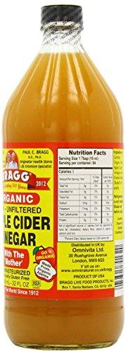 -[ Braggs Organic Apple Cider Vinegar, 946ml (Pack of 2)  ]-