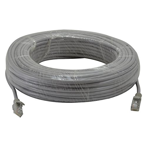 InstallerCCTV 100Ft CAT 5e Ethernet Patch Premade Cable Category 5e Patch Cord LAN Cable UTP 24 AWG 100/% Copper Wire RJ45 Computer Network Cord