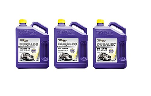 Royal Purple 04154 / 300905 Duralec Super 15W40 CK-4 Motor Oil Synthetic - 1 gal. (Case of 3)