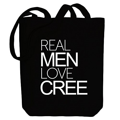 love men Bag Idakoos Real Cree Canvas Languages Real Idakoos Tote wtwqIS