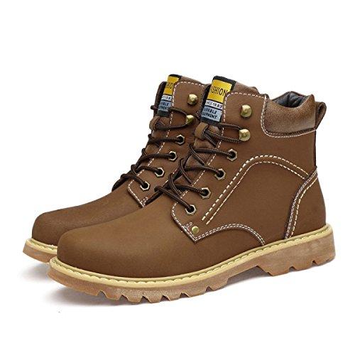 Alto Lavoro Grandi Del Brown Stivali Stivali Inghilterra Aiuto Stivali Da Stivali Deserto Scarpe Martin rXUtqrw