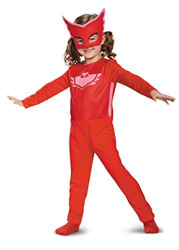 Disguise Owlette Costume PJ Masks Dress up for Kids Toddler (4-6)
