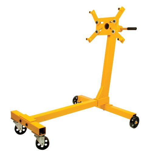 Performance Tool W41025 1/2 Ton (1,000 lbs.) Capacity Engine Stand With 360 Degree Rotating Mount Assembly