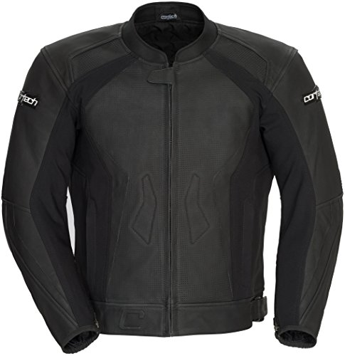 Cortech Latigo 2.0 Leather Motorycle Jacket Flat Black 2Xlarge (Cortech Latigo Leather)