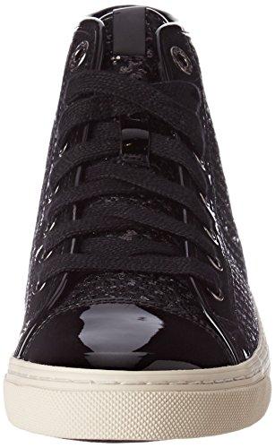 Geox D Giyo, Zapatillas para Mujer Negro (Black)