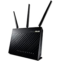 ASUS  Dual-band Wireless-AC1900 Gigabit Router, Black ( RT-AC68U)