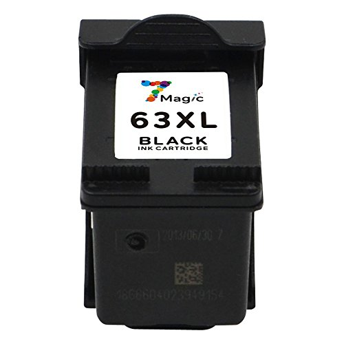 7Magic Remanufactured Ink Cartridge Replacement for 63XL 63 XL Use in Envy 4512 4516 4520 Officejet 3830 3831 4650 4655 Deskjet 2130 2132 3630 3632 3634 3636 Printer (2 Black & 1 Tri-Color) Photo #6